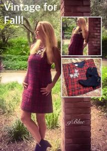 red plaid ress